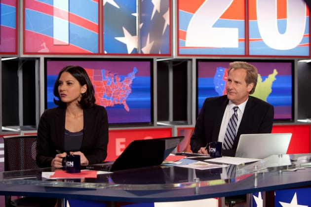 Election Night on The Newsroom