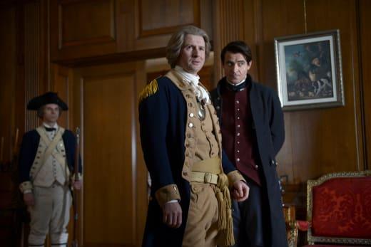 Flynn and Washington - Timeless Season 1 Episode 10