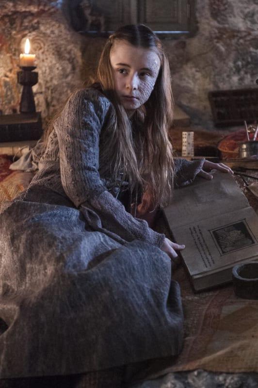 Kerry Ingram as Shireen Baratheon