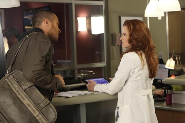 Jackson and April Talking