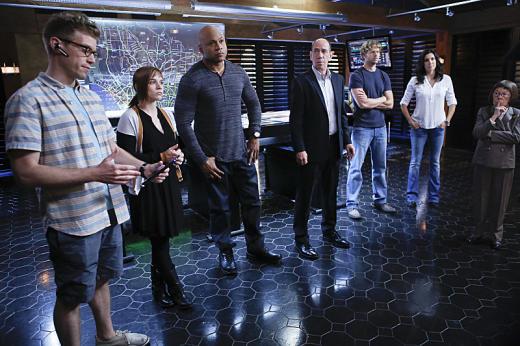 The NCIS: Los Angeles Squad