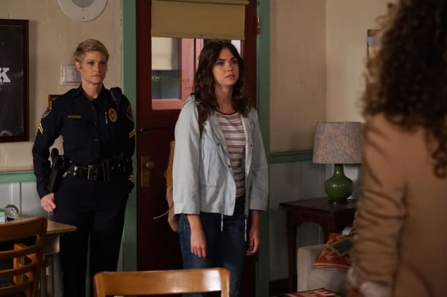 An inappropriate reacton the fosters