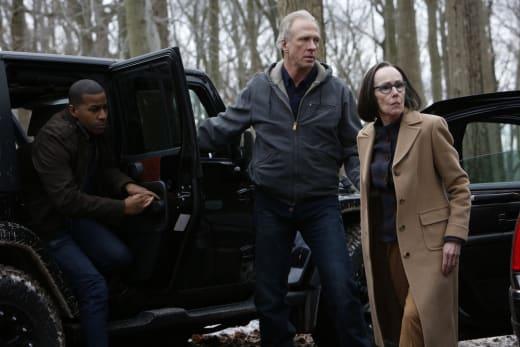 Mr. Kaplan looks concerned - The Blacklist Season 4 Episode 20