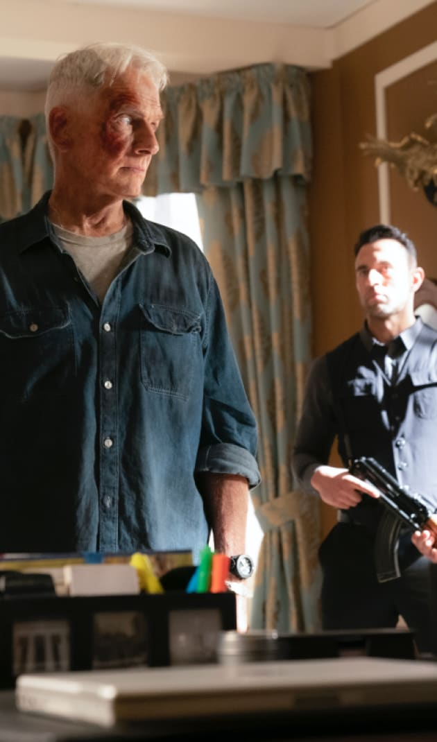 A Bloodied Gibbs - NCIS Season 17 Episode 1