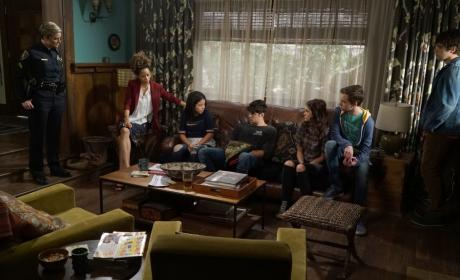 Under Lockdown - The Fosters