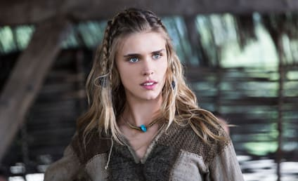 Vikings Interview: Gaia Weiss on Playing Porunn, Keeping Secrets