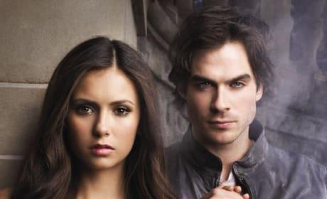 Elena and Damon Poster
