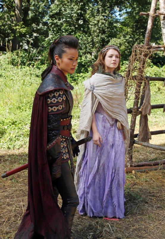 Mulan and Aurora