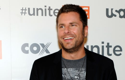 James Roday Attends Concert