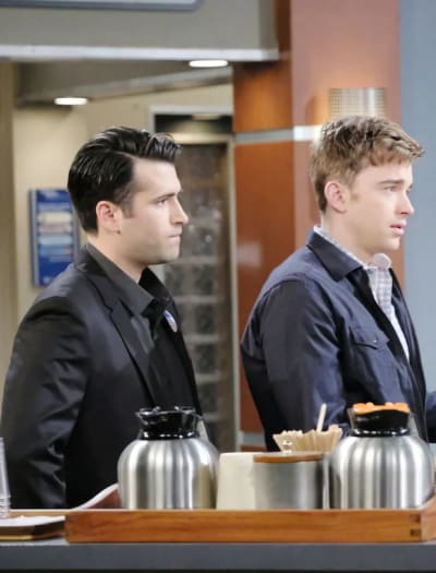 Will Gets Bad News - Days of Our Lives
