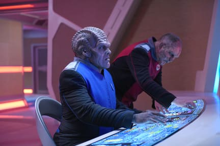 Bortus Hard at Work - The Orville Season 1 Episode 5