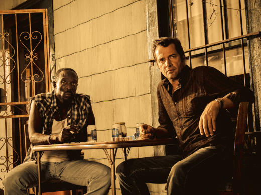The Guys on Hap and Leonard: Mucho Mojo Season 2