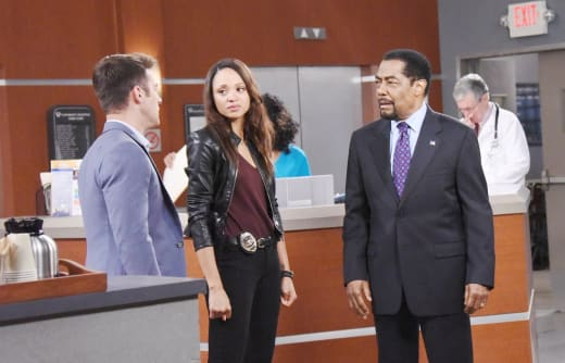 Abe Blames JJ - Days of Our Lives