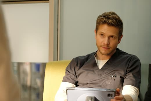 Attentive Conrad - The Resident Season 1 Episode 10