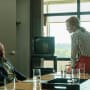Donna Looms over Boz - Halt and Catch Fire Season 4 Episode 2