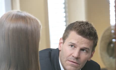 Booth Has Concerns About The Current Case - Bones Season 10 Episode 7