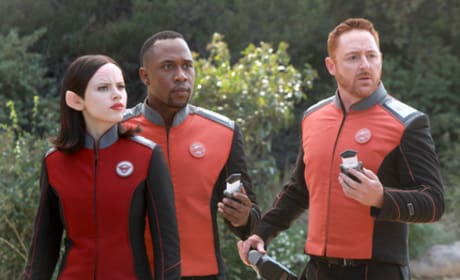 Kitan, LaMarr, and Malloy - The Orville Season 1 Episode 12