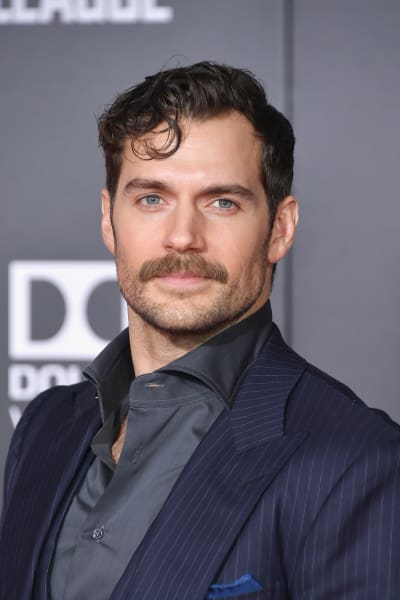 Henry Cavill Attends Justice League Premiere