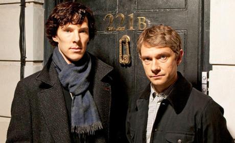 Sherlock and Watson Photo
