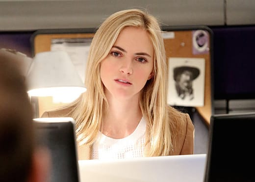 Emily Wickersham on NCIS Season 12 Episode 22