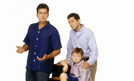 Charlie, Alan and Jake Promo Shot