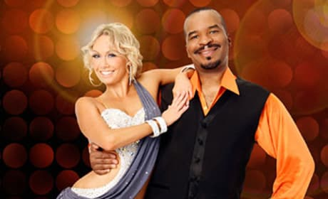 Kym Johnson and David Alan Grier Pic