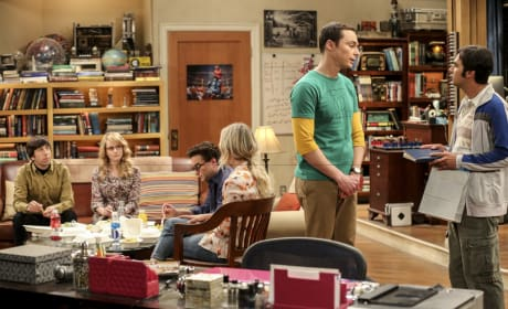 Sheldon and Raj Talk - The Big Bang Theory Season 10 Episode 18