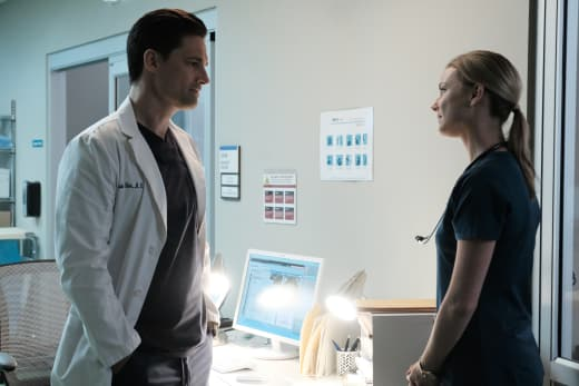 Should Conrad Be Concerned?  - The Resident Season 1 Episode 5