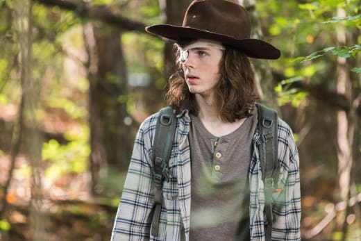 Stay In The House Carl! - The Walking Dead Season 8 Episode 6