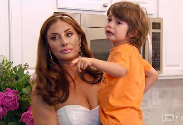 Sadness on The Real Housewives of Orange County
