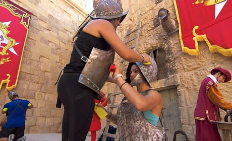 Polishing the Armor - The Amazing Race