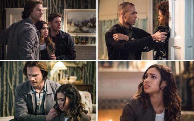 Sam dean and alicia are in shock supernatural season 12 episode