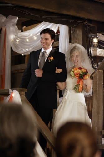 Clark Walks Chloe Down the Aisle