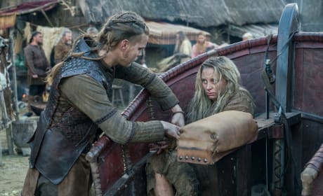 Hvitserk and Margrethe - Vikings Season 5 Episode 11