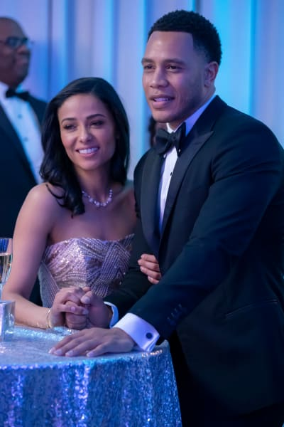 Andre at the Wedding - Empire Season 5 Episode 16