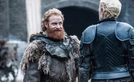 Tormund Gives Brienne the Eye - Game of Thrones
