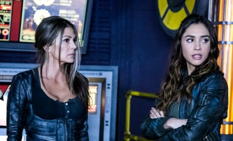 Raven and Abby - The 100 Season 6 Episode 9