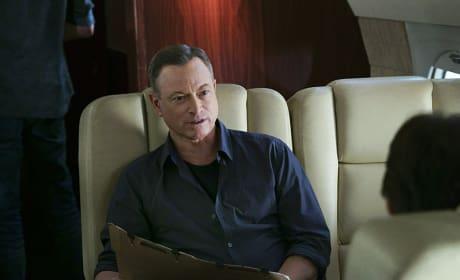 Gary Sinise on Criminal Minds Season 10 Episode 19