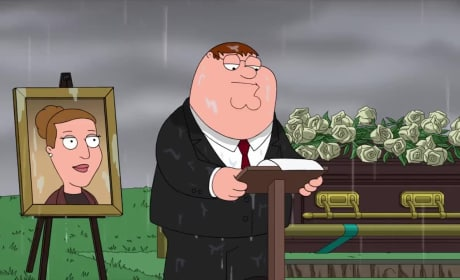 Family Guy Pays Tribute to Carrie Fisher With Emotional Eulogy