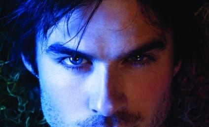 New Vampire Diaries Poster: Human, Hot Damon!