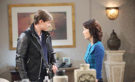 Will Confronts Tori - Days of Our Lives