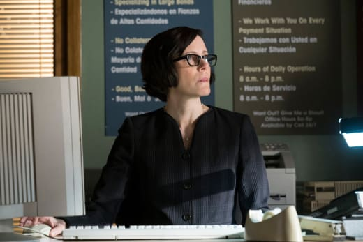 Mr. Ketch works a computer - The Blacklist Season 4 Episode 17