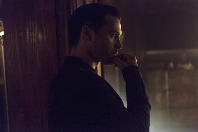 Ponderous Enzo - The Vampire Diaries Season 7 Episode 5