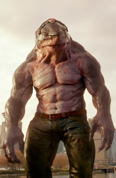 King Shark Has Been Working Out - The Flash Season 5 Episode 15
