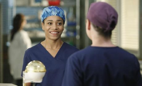 Making a Connection - Grey's Anatomy Season 11 Episode 11