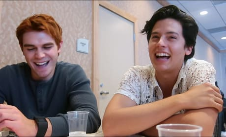 Riverdale: K.J. Apa and Cole Sprouse Tease Archie's Flip Side and Jughead's Family