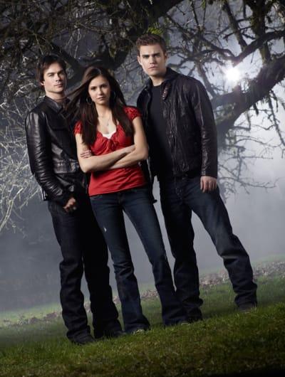 The Vampire Diaries Cast Picture