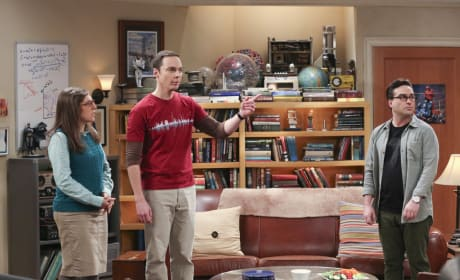 Amy and Sheldon Share the Details - The Big Bang Theory Season 10 Episode 12
