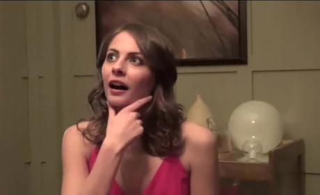 Willa Holland Set Interview