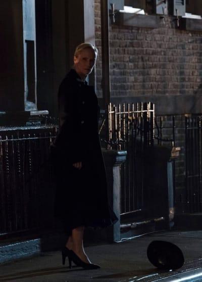 Katarina and Hat - The Blacklist Season 6 Episode 22